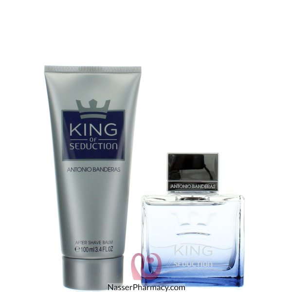 Antonio  Banderas King Of Seduction Edt100ml&after Shave Balm 100ml