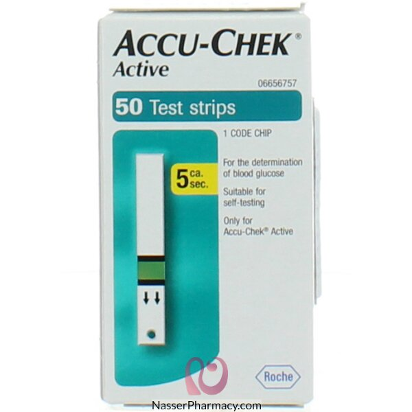 Accucheck 50s Active Strips