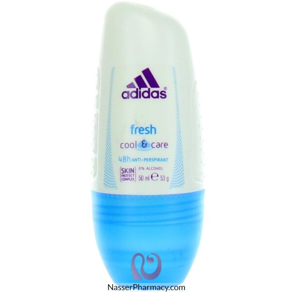 Adidas Fresh Cool & Care 48h Anti-perspirant Roll On, 50 Ml