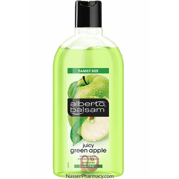 Alberto Balsam Juicy Green Apple Shampoo 750ml