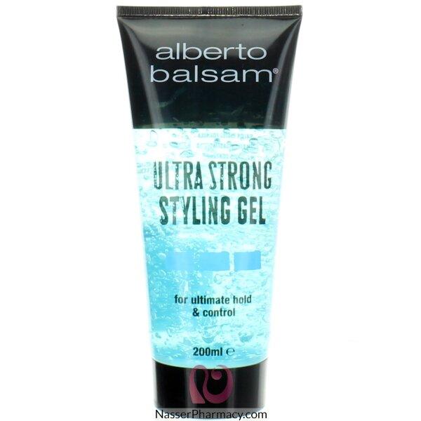Alberto Balsam Ultra Strong Styling Gel- 200ml