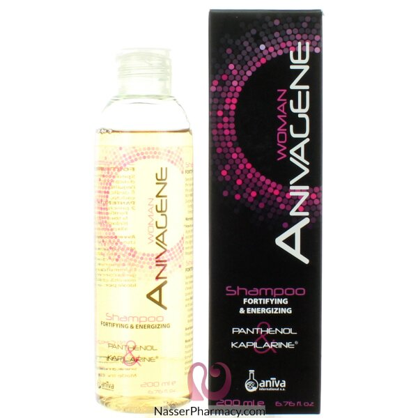 انيفاجين Anivagene  شامبو علاج تساقط الشعر للنساء 200مل