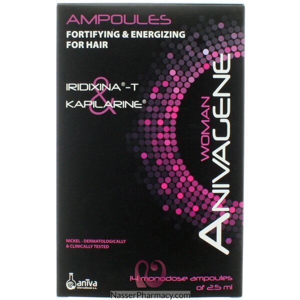 Anivagene Women Ampoules For Hair Loss   (14 Amp)