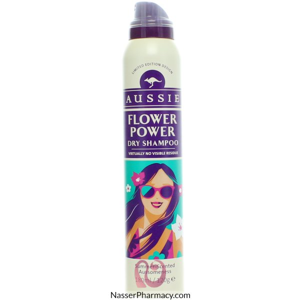 Aussie Dry Shamp Flower Power 180ml
