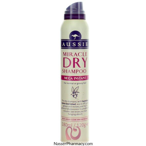 Aussie Dry Shampoo Mega- 180ml