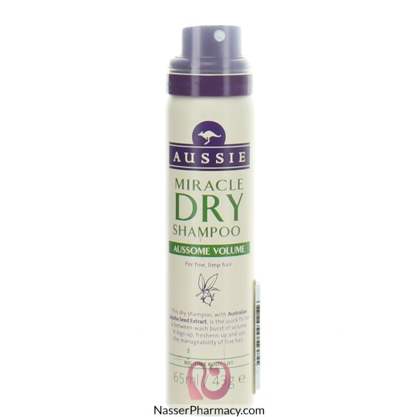 Aussie Dry Shampoo Volume - 65ml