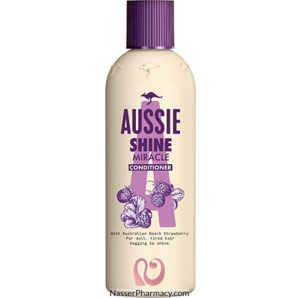 Aussie Miracle Shine Shampoo For Dull Tired Hair - 300 Ml