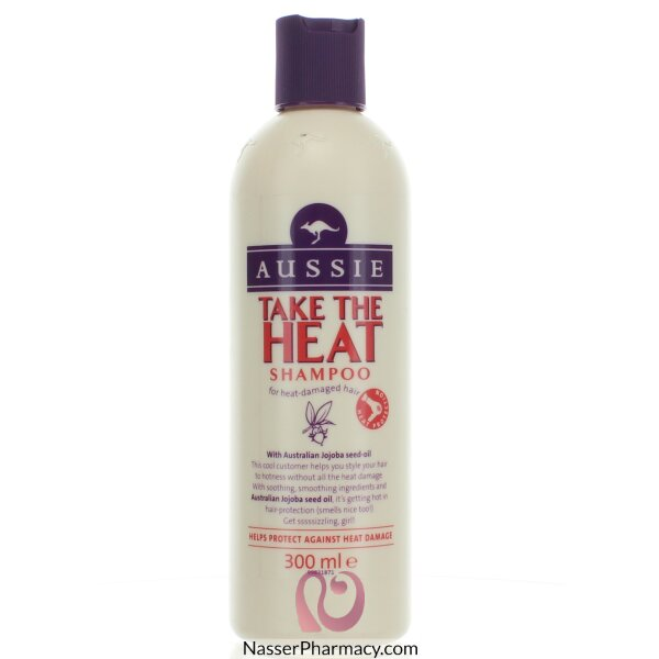 Aussie Take The Heat Shampoo 300ml