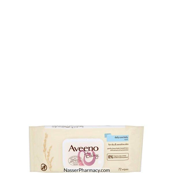 Aveeno Baby Wipes 72's