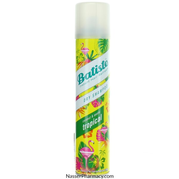 Batiste Dry Shampoo Tropical-200ml