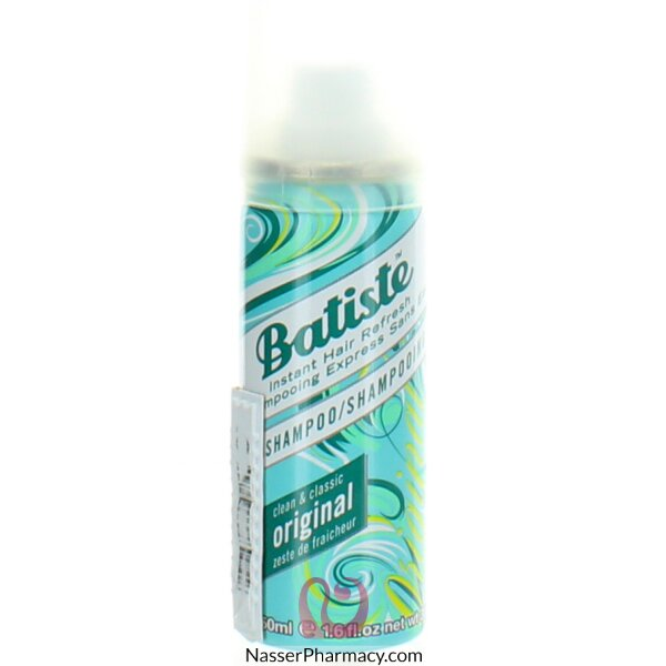 Batiste Shampoo On The Go Original 50ml