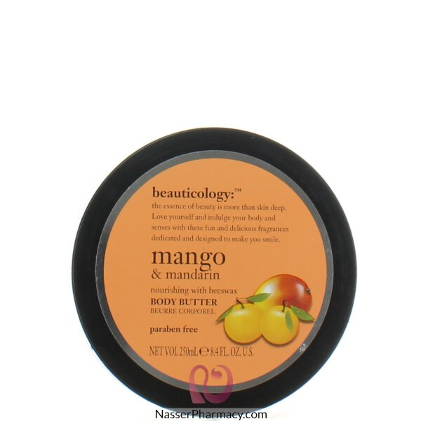 Baylis & Harding  Body Butter  With  Mango And Mandrin  Jar 250ml