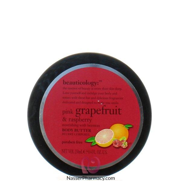 Baylis & Harding  Body Butter  With Pink Grape Fruit&rasperry Jar 250ml