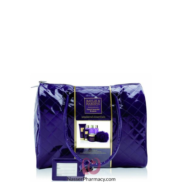 Baylis & Harding  French Lavender Weekend Bag Gift Set
