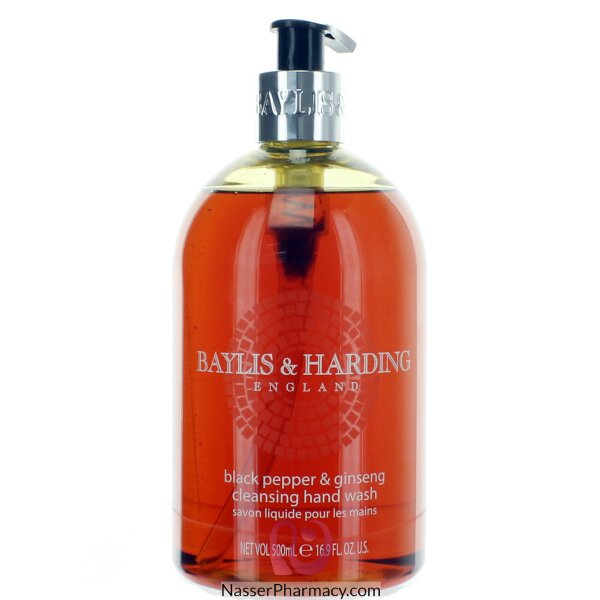 Baylis & Harding Hand Wash Black Pepper & Ginseng 500ml