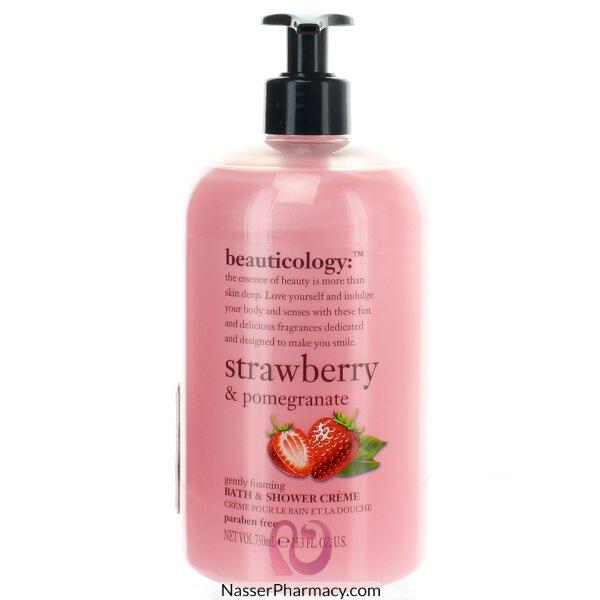 Baylis & Harding Strawberry And Pomegranate Shower Cream 750ml