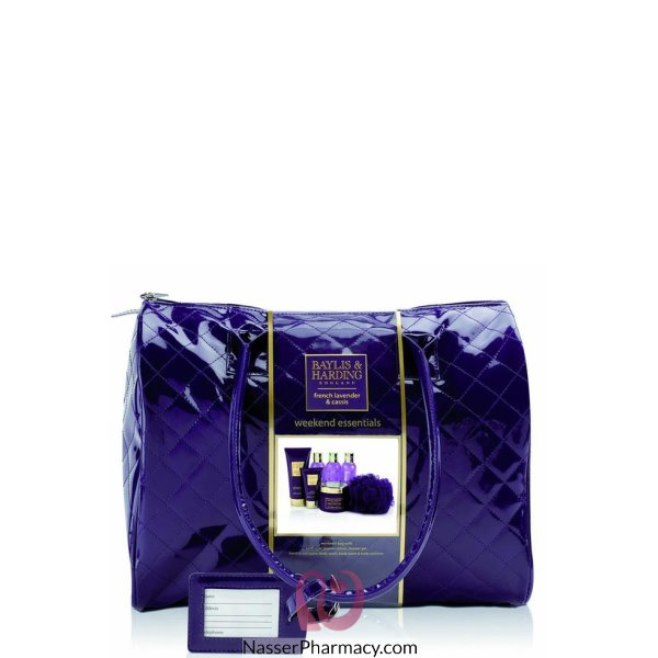 B&h French Lavender Weekend Bag Gift Set