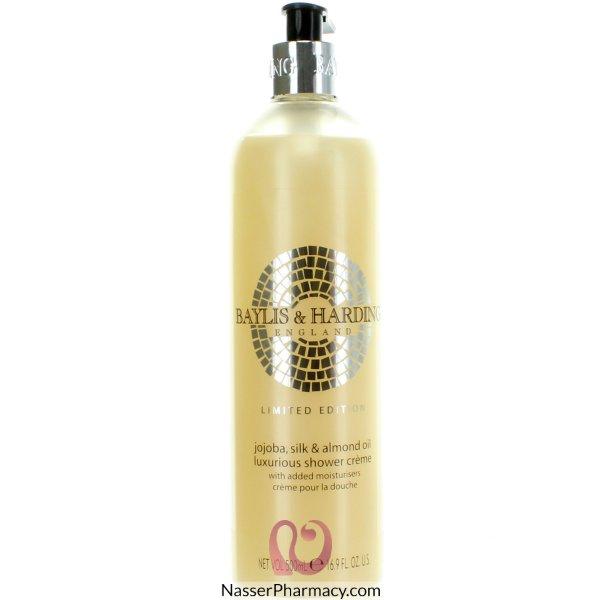 B&h Shwr Cream Jojoba Slk&almnd Oil