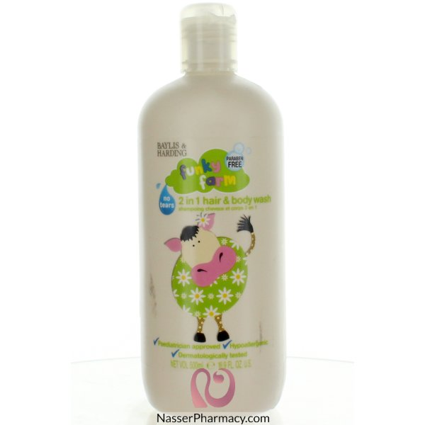 Funky Farm Deli Flo Hair & Body Wash 500ml