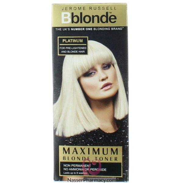 بى بلوند B Blond تونر فضى 75 مل للشعر الفاتح والأشقر