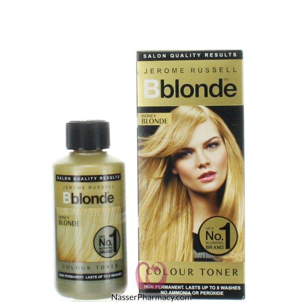 بى بلوند B Blond تونر للشعر الأشقر العسلي 75 مل