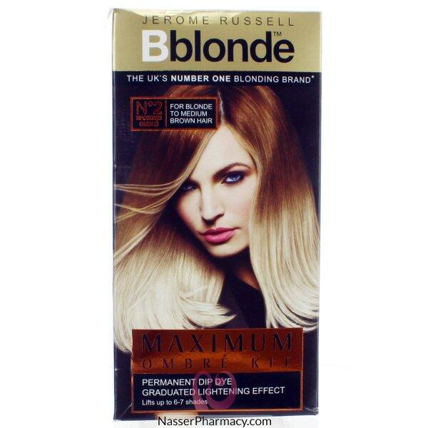 صبغة Jerome Russell B Blonde لتفتيح الشعر ( الأشقر أو الأشقر المتوسط )