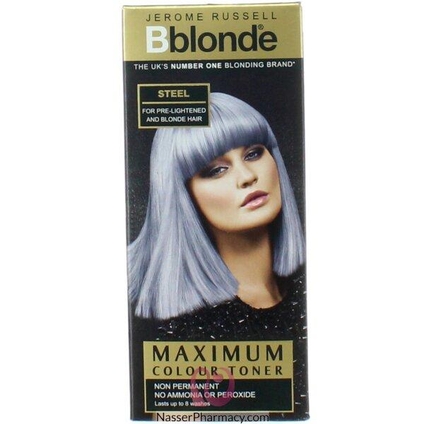 B Blonde Steel Toner 75m