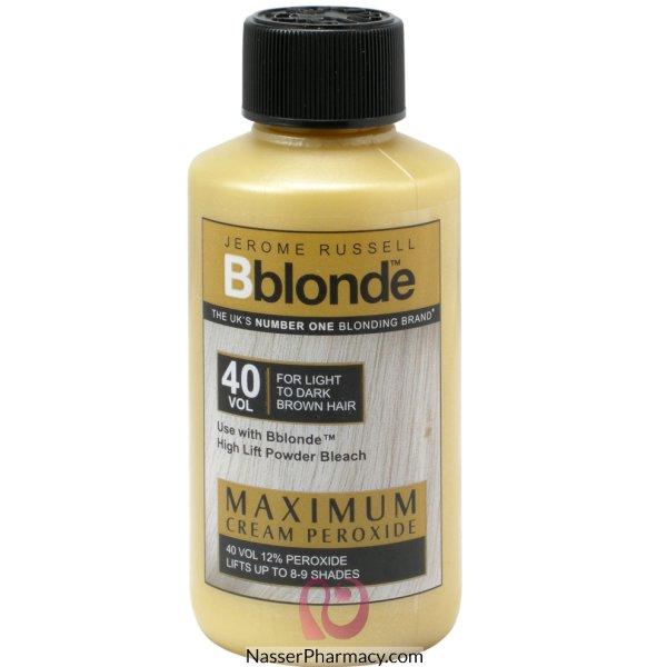 Born Blonde 40 Vol Cream Peroxide-75ml-9296