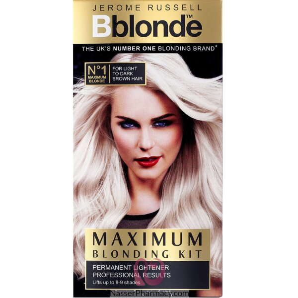 Jerome Russell B Blonde Lightening Kit Med-dark