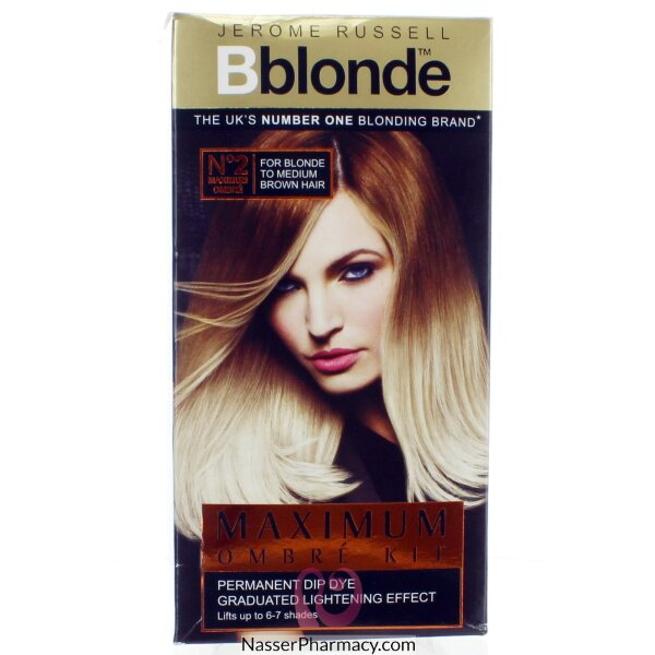 Jerome Russell B Blonde Maximum Ombre Kit (blonde -medium Brown )