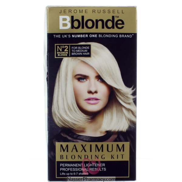 Jerome Russell Bblonde Maximum Blonding Kit  No .2