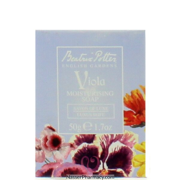 B Potter(e) Boxed Soap Viola 50g Cdu - 36136