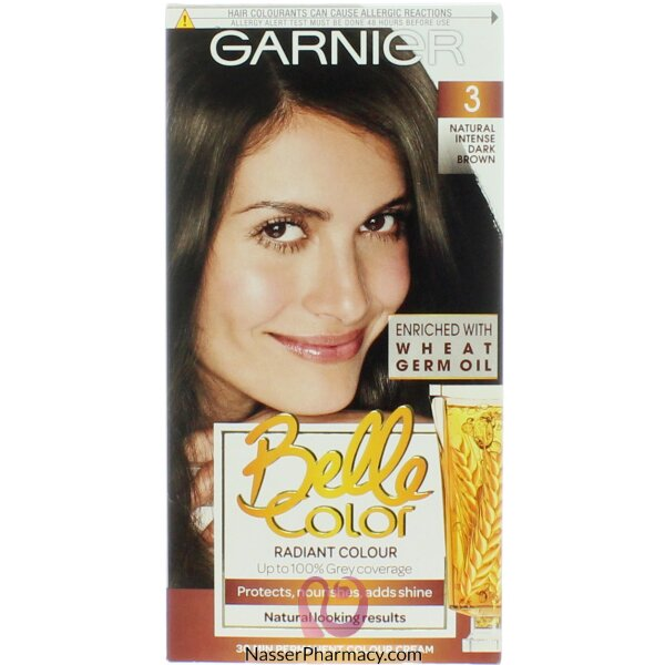 جارنييرbelle Color صبغة دائمة للشعر -new 3 Inten Dark Brown