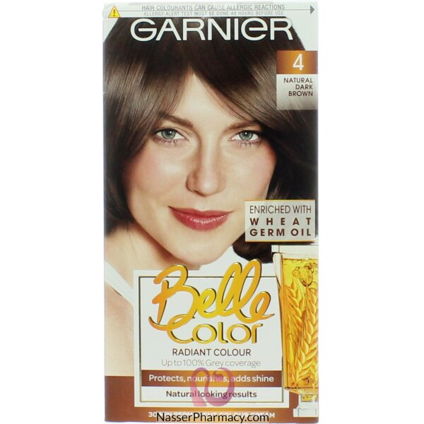 جارنييرbelle Color صبغة دائمة للشعر - New 4 Dark Brown