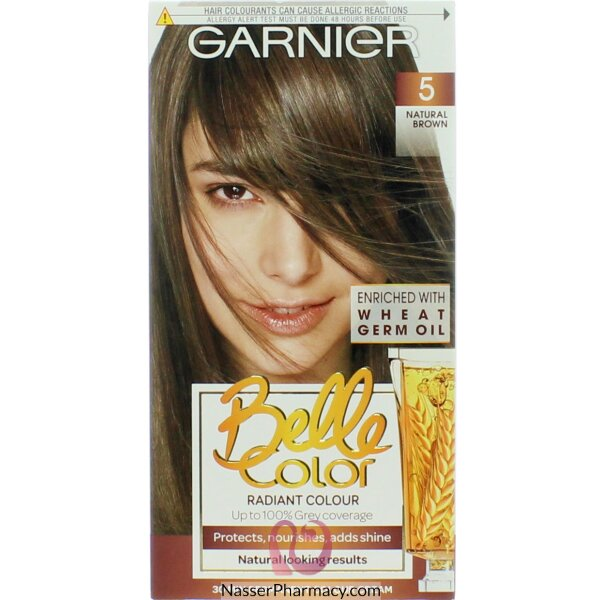 جارنييرbelle Color صبغة دائمة للشعر - New 5 Brown