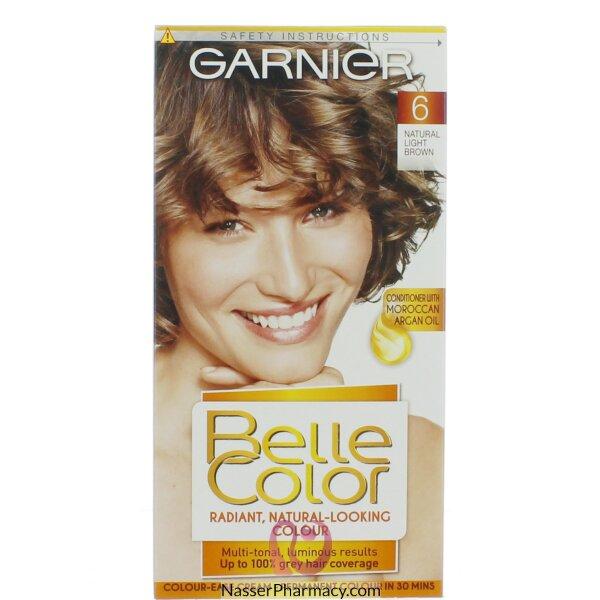 جارنييرbelle Color صبغة دائمة للشعر -new 6 Light Brwon