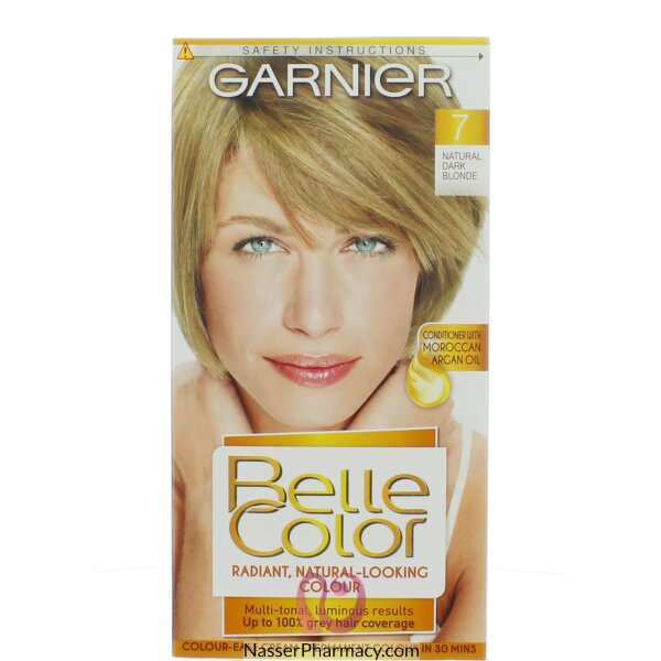 جارنييرbelle Color صبغة دائمة للشعر -new 7 Very Light Brown