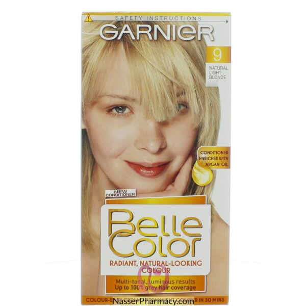 جارنييرbelle Color صبغة دائمة للشعر -new 9 Light Blonde
