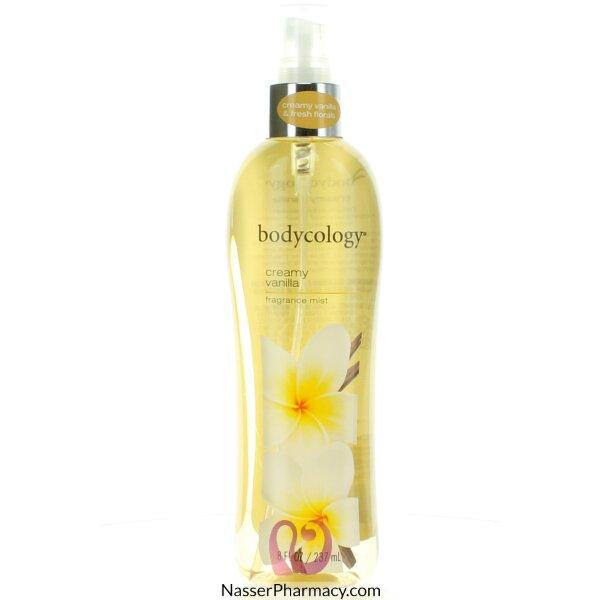 Body Cology Body Mist Creamy Vanilla 237ml