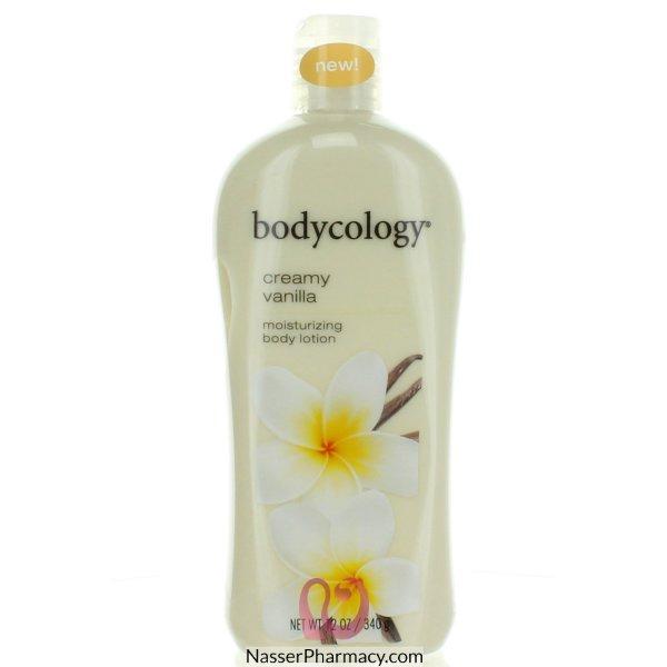 Bodycology  B/lotion Creamy Vanilla  12oz