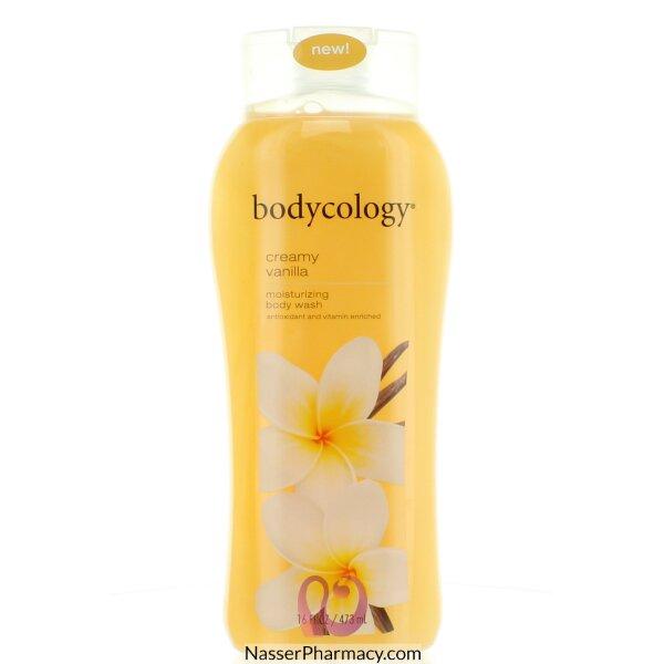 Bodycology Body Wash Creamy Vanilla Moisturizing 473ml