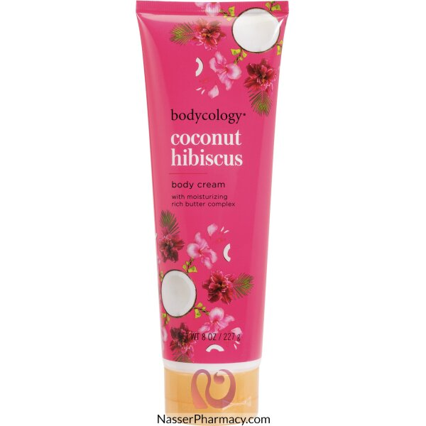 Bodycology Coconut Hibiscus Body Cream 227g