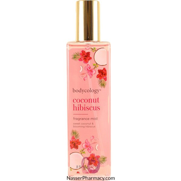 Bodycology Coconut Hibiscus Body Mist  237ml