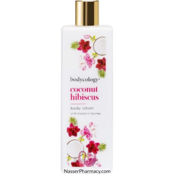 Bodycology Coconut Hibiscus Lotion 12oz 103416-ct