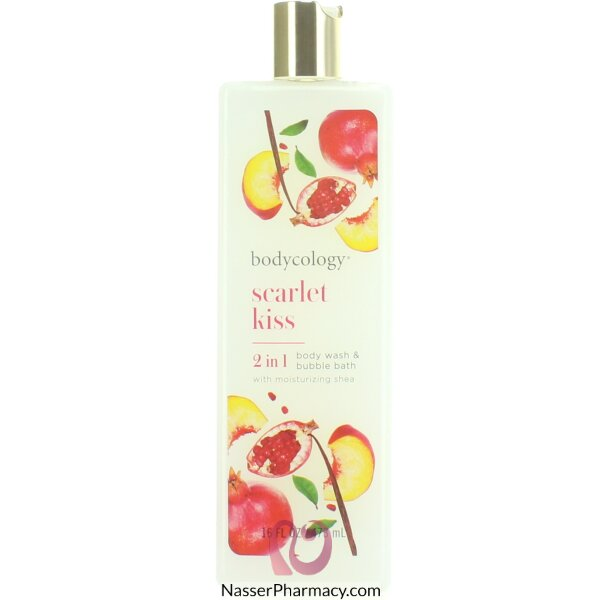 Bodycology Scarlet Kiss Moisturizing Body Wash 437 Ml