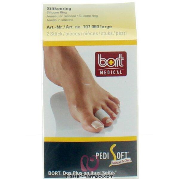 بورت Bort حلقة سيليكون لأصابع القدم -مقياس كبير