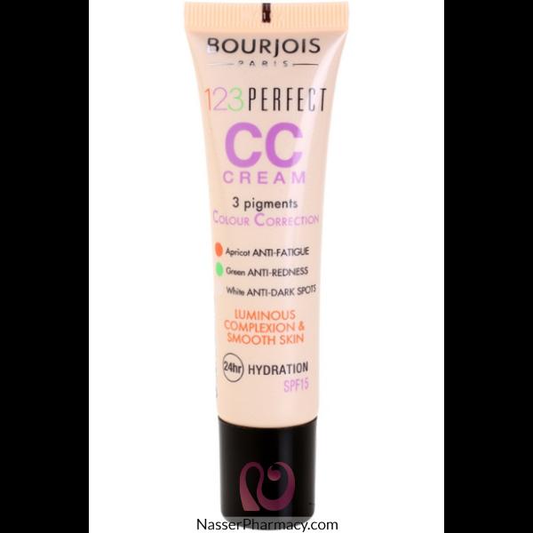 Bourjois 123 Perfect Colour Correcting Cream-  T32 Beige Claire