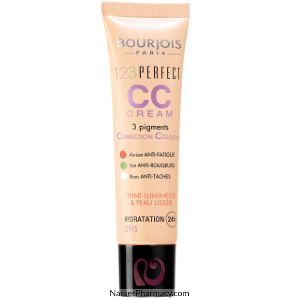 Bourjois 123 Perfect Colour Correcting Cream- T33 Beige Rose