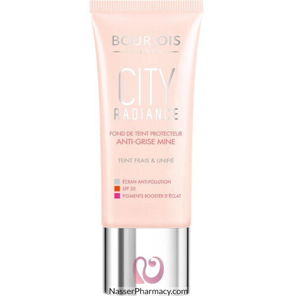 Bourjois City Radiance Foundation- 02 Vanilla