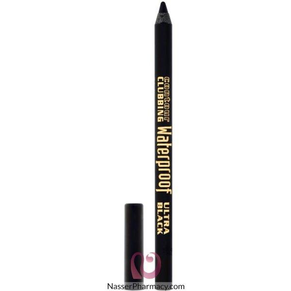 Bourjois Eyeliner Contour Clubbbing - Wat Ultra Black